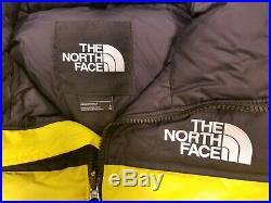 The North Face 1996 Retro Nuptse couleur Lemon Taille XL