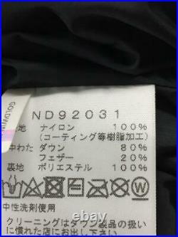 The North Face 2020Aw Himdow Percar M Outerwar Nd92031 Nylon Noir Veste
