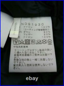 The North Face 20Aw Downjk M Kaki Nd91930 Kaki Nylon Veste De Japon