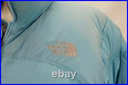 The North Face 700 Nuptse Bas Remplissage Doudoune Bleu Femmes Grand