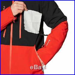 The North Face Anonym Homme Veste Blouson De Ski Tnf Black Fiery Red