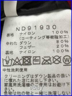 The North Face Bas Xs Nd91930 Rouge Nylon Veste De Japon