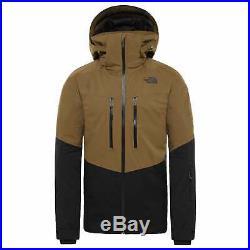 The North Face Chakal Homme Veste Blouson De Ski Military Olive Tnf Black