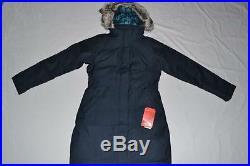 The North Face Femmes Arctique Bas Parka Marine XL XL Authentique Neuf