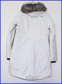 The North Face Femmes Arctique Parka II 550 Veste Doudoune Vintage Blanc Ivoire