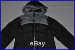 The North Face Filles Elisa Bas Parka L Large Tnf Noir Tout Neuf Authentique