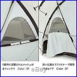 The North Face Geodome 4 Tente avec Empreinte NV21800 Safran Jaune F/S W / Piste