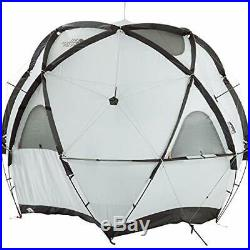 The North Face Geodome 4 Tente avec Empreinte de Pied NV21800 Safran Jaune