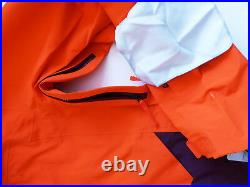 The North Face Homme Gratuit Penseur 3L Gore-Tex Pro Veste Ski Orange Fig M