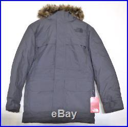 The North Face Homme Mcmurdo Parka III 550-fill Veste doudoune Gris  asphalte M M 4676e1188ee5