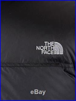 The North Face Homme Nuptse Puffa Logo Gilet, Noir