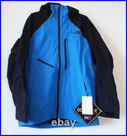 The North Face Homme Powderflo Gore-Tex Ski Snowboard Veste Hyper Bleu M