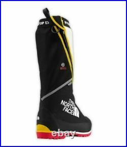The North Face Homme Verto S8K Bottes Noir Blanc Jaune Rouge A0Z7KX9