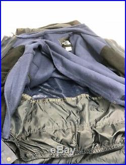 The North Face Homme Vintage Montagne Guide Veste Bleu Noir Taille XL Gore-Tex