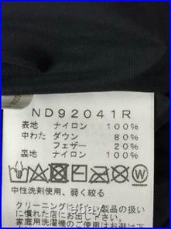 The North Face L Nylon 20Aw Capuche Nd92041R Nylon Noir Veste De Japon