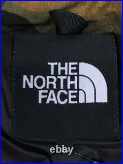 The North Face L Nylon Grn Camouflage Vert Nylon Veste Mode De Japon