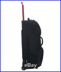 The North Face Longhaul 30 Inch Large Wheeled Suitcase Black New 2017 Model