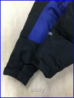 The North Face Lui Bas Parka XL Nylon Nd92031 Bleu Nylon Veste De Japon