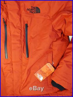 The North Face Men's HIMALAYAN LIFESTYLE PARKA 550 Down Cardinal Red Jacket M