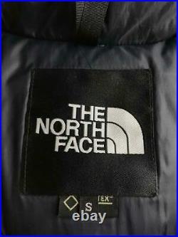 The North Face Mountain Bas Nd91737 S Nylon Kaki Goatex Veste De Japon