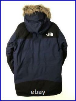 The North Face Mountain-Down Manteau M Nd91835 Bleu Nylon Veste De Japon