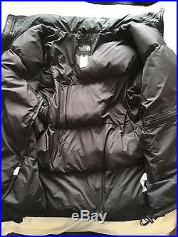 The North Face Nuptse 700 Goose Down Black Puffa Jacket XL