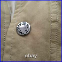 The North Face Purple Label Longcelow Downcoat Beige Bas Veste S1374