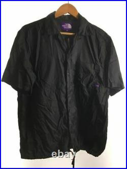 The North Face Purple Label Manche Courte Chemise M Nylon Noir S1063