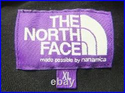 The North Face Purple Label Rugby Chemise XL Noir Grand Silhouette S1002
