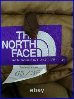 The North Face Purple Label Shortdown Nd2084N M Polyester Veste