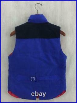 The North Face S Coton Blu Uh V001 Ad2011 Étiquette TAILLE S Gilet 3191 Japon