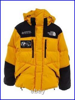 The North Face S Jaune Nd91901R Logo Patch Jaune Nylon Veste De Japon