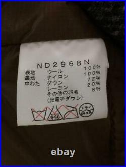 The North Face S Laine Carreaux Étiquette TAILLE Multicolore Gilet 3776 De Japon