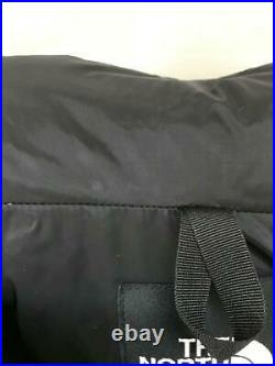 The North Face S Nylon Côté Rolight Nd91710 Nylon Noir Veste De Japon