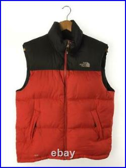 The North Face S Nylon Red-By-Color Zip Entier Étiquette TAILLE Gilet 3505 Japon
