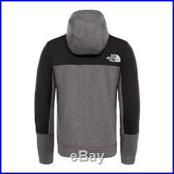 The North Face Sweat-Shirt Lite Fermeture Éclair T93rywdyy Gris/Noir Modèle