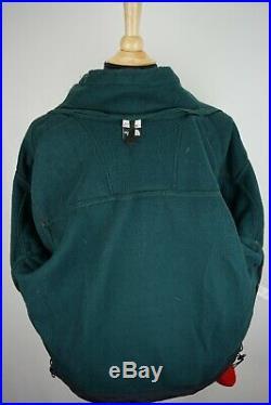 The North Face Tnfx Vintage Polaire Vert Rouge Jaune Couleurs Veste M Made USA