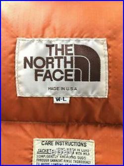 The North Face USA Fabriqué Thé 80S, Petit Trou Ali TailleL Étiquette Na Gilet