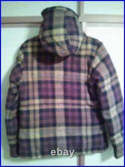 The North Face Violet Étiquette × Nanamica × Harris Tweed Bas Veste TAILLE XS