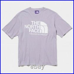 The North Face Violet LABELxPALACE SKATEBOARDS H/S T-Shirt Japon Limité