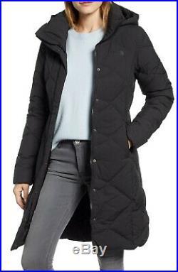 The North Face pour Femme Miss Metro Parka Capuche Noir Manteau TAILLE XS Xs