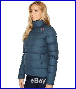 The North Face pour Femmes Nuptse 700 Bas Doudoune Bleu Rose TAILLES S/M/L Neuf