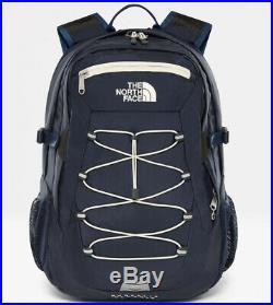 The north face borealis classique urban bleu marine vintage blanc sac à dos neuf