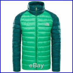 The north face trevail veste primaire vert neuf s m l xl veste duvet plume d