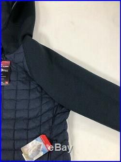 Veste avec Capuche Homme Bleu Taille L Thermoball Bi Matière THE NORTH FACE