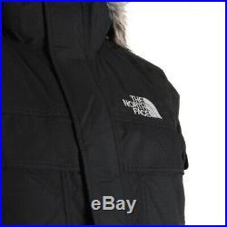 Vêtement Parkas The North Face homme M Mc Murdo taille Noir Nylon Fermeture