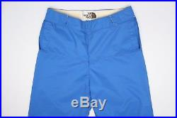Vintage The North Face Hommes Goretex Pantalons de Ski L Solide Bleu