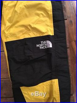 Vintage The North Face Mountain Light Pants Size L Yellow Tnf Gore Tex